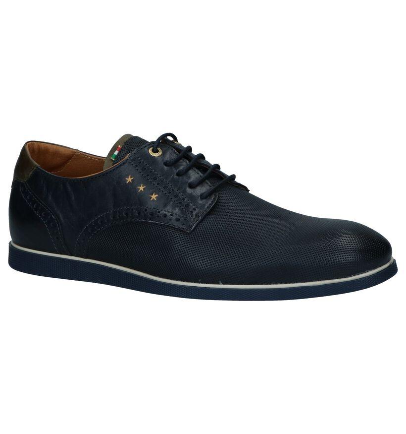 Pantofola d'Oro Chaussures habillées en Bleu foncé en cuir (240868)