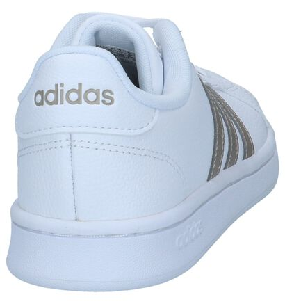 adidas Grand Court Baskets en Noir en cuir (252582)