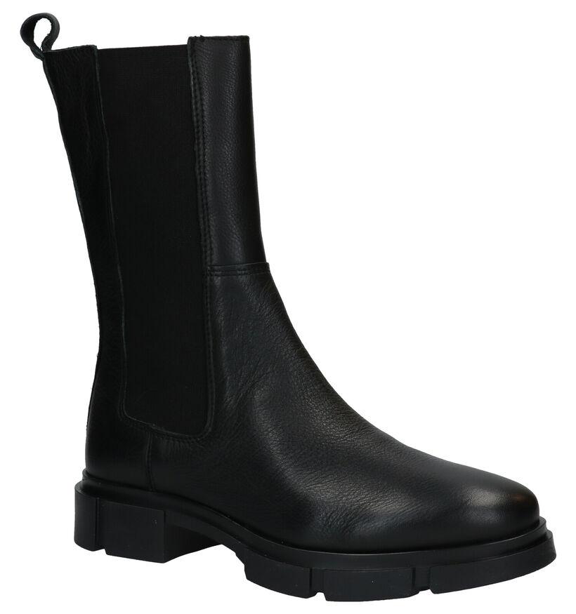 Via Limone Zwarte Boots in leer (288544)