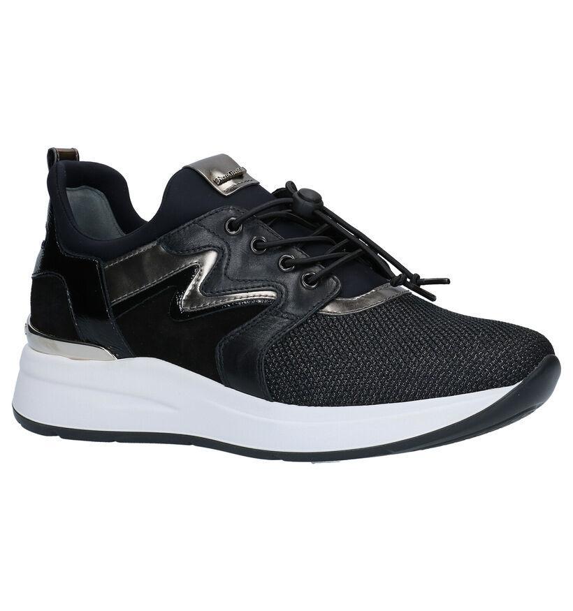 NeroGiardini Zwarte Slip-on Sneakers in daim (281739)