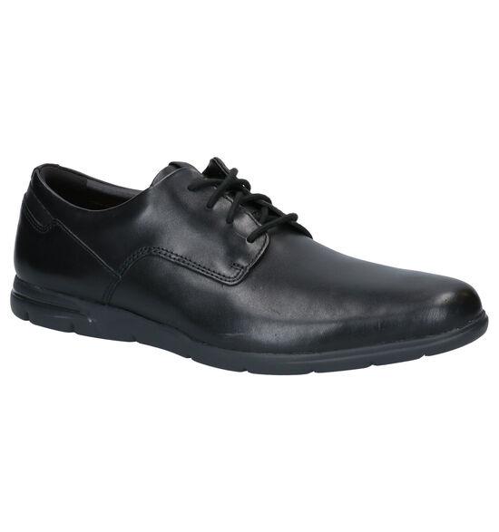Clarks Vennor Walk Chaussures Habillées en Noir