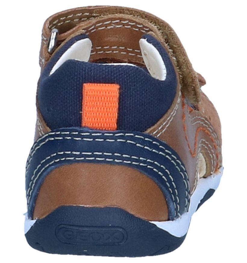 Geox Sandales pour bébé en Marron en cuir (245012)