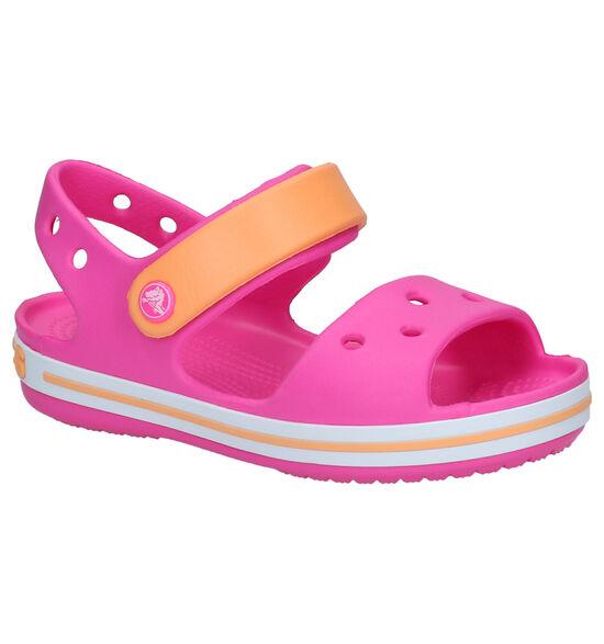 Crocs Crocband Sandal Fushia Sandalen