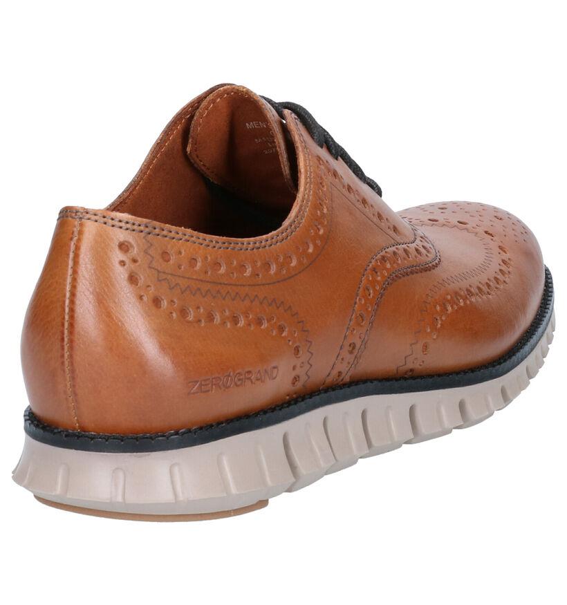 Cole Haan Zerogrand Cognac Lage schoenen in leer (257907)