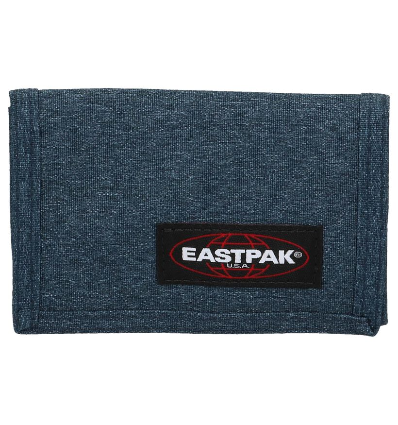 Zwarte Portefeuille Eastpak Crew Single EK371 in stof (238127)
