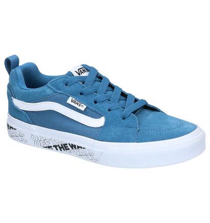 Donkerblauwe Skateschoenen Vans Filmore in stof (253311)