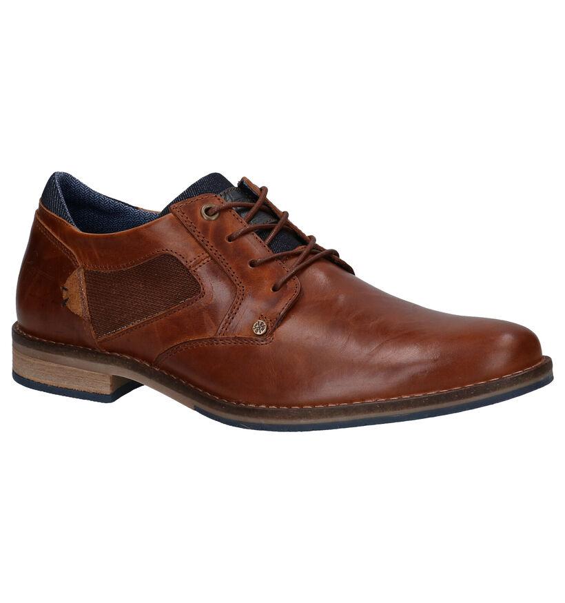 Bullboxer Chaussures habillées en Cognac en cuir (252799)
