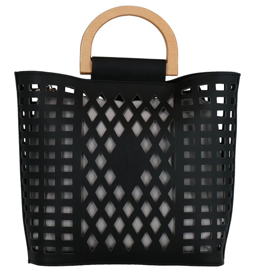 Inyati Demi Sac à Main en Noir en simili cuir (275450)