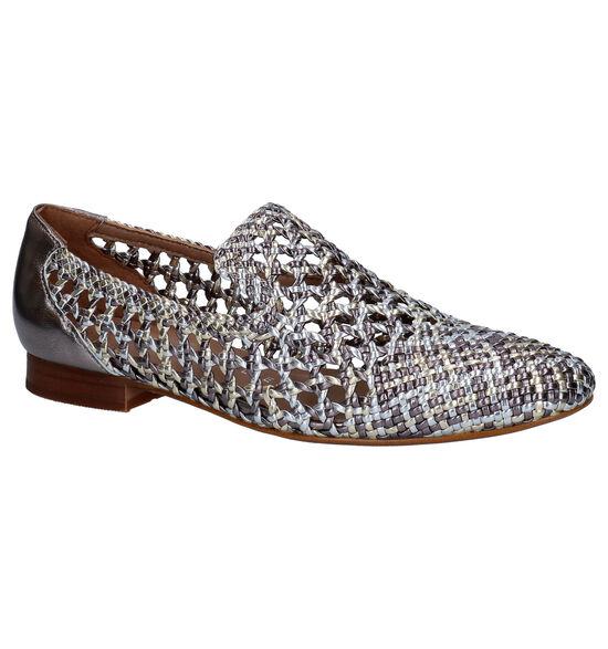 Pedro Miralles Zilveren Loafers