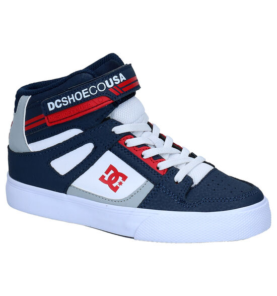 DC Shoes Pure High Top Blauwe Sneakers
