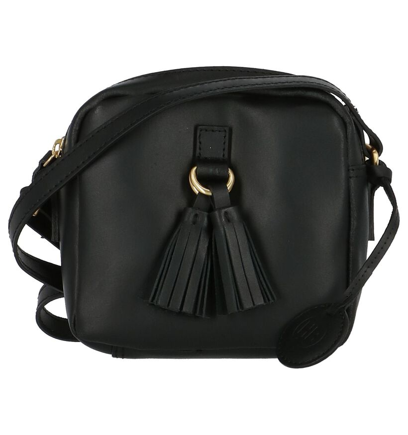 Crossbody Tasje Hampton Bays Zwart in leer (205636)