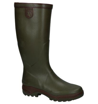 Aigle Bottes de pluie en Vert kaki en caoutchouc (161478)