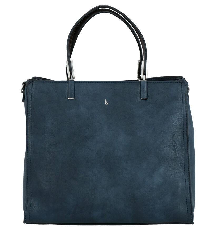 Abbacino Langarita Sac à Main en Bleu en simili cuir (264474)