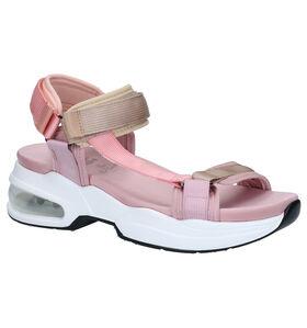 Xti Roze Sandalen in stof (291313)