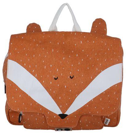 Trixie Mr. Fox Oranje Boekentas in stof (265819)