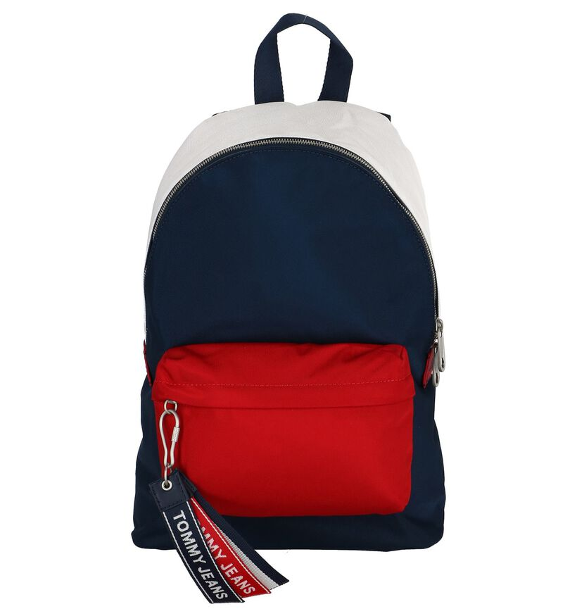 Donkerblauwe Rugzak Tommy Hilfiger in stof (236896)