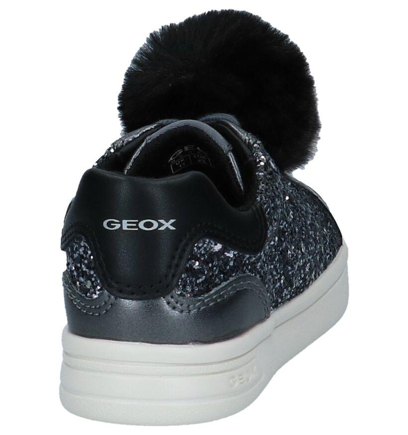 Geox Baskets basses en Gris foncé en simili cuir (223140)