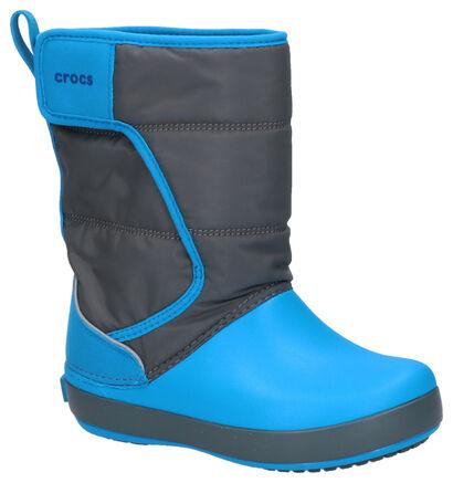 Crocs Lodgepoint Bottes de neige en Bleu en synthétique (255725)