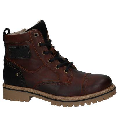 Bullboxer Chaussures hautes en Brun foncé en cuir (227013)