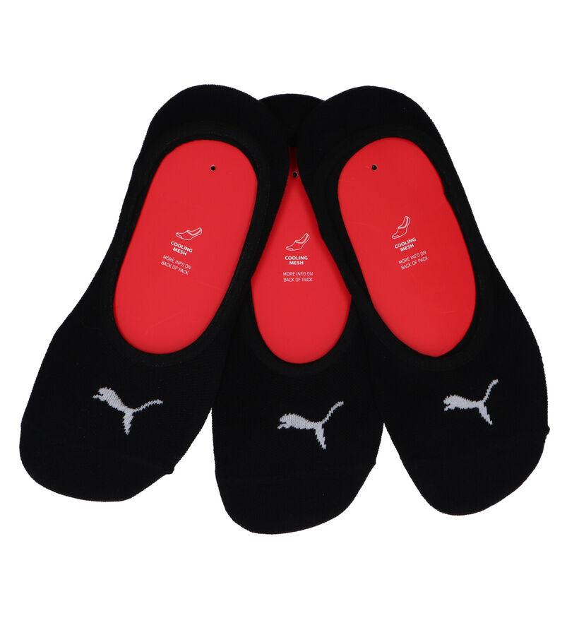 Puma Zwarte Sneakersokken - 3 Paar (216541)