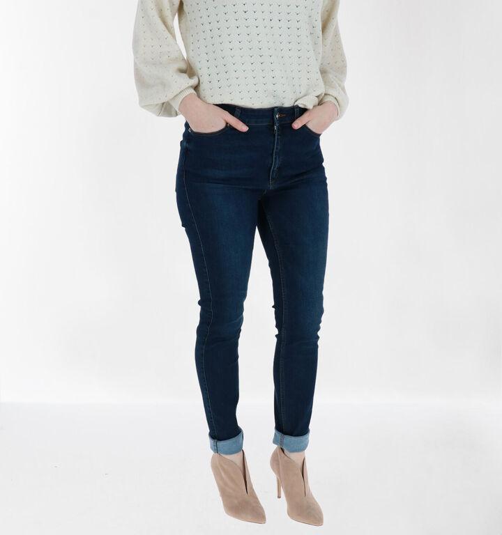 comma Skinny Fit Jeans en Bleu