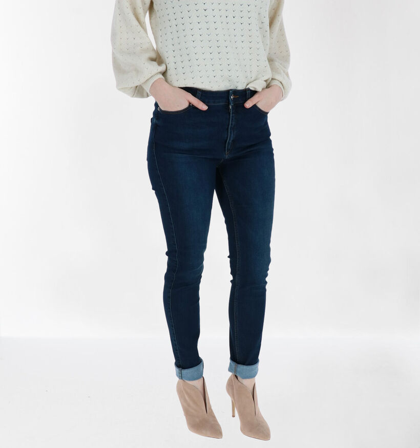 comma Skinny Fit Jeans en Bleu (278148)
