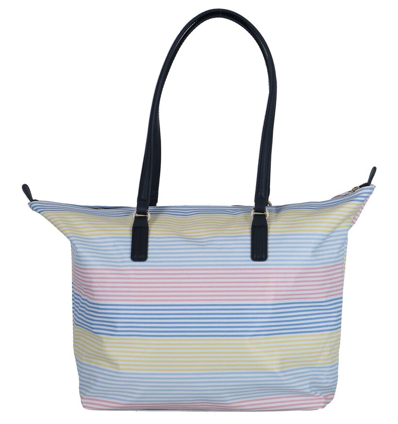 Multicolor Opvouwbare Schoudertas Tommy Hilfiger Poppy Tote in stof (241864)