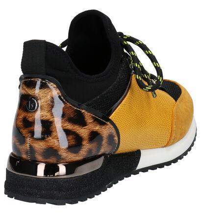 La Strada Zwarte Sneakers in kunstleer (258811)