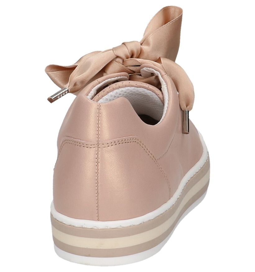 Gabor OptiFit Chaussures à lacets en Rose en cuir (216316)