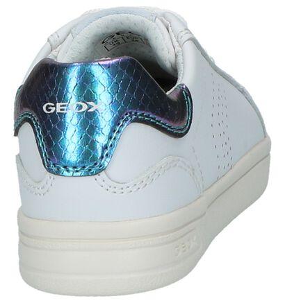 Witte Lage Sportieve Sneakers Geox in kunstleer (210486)