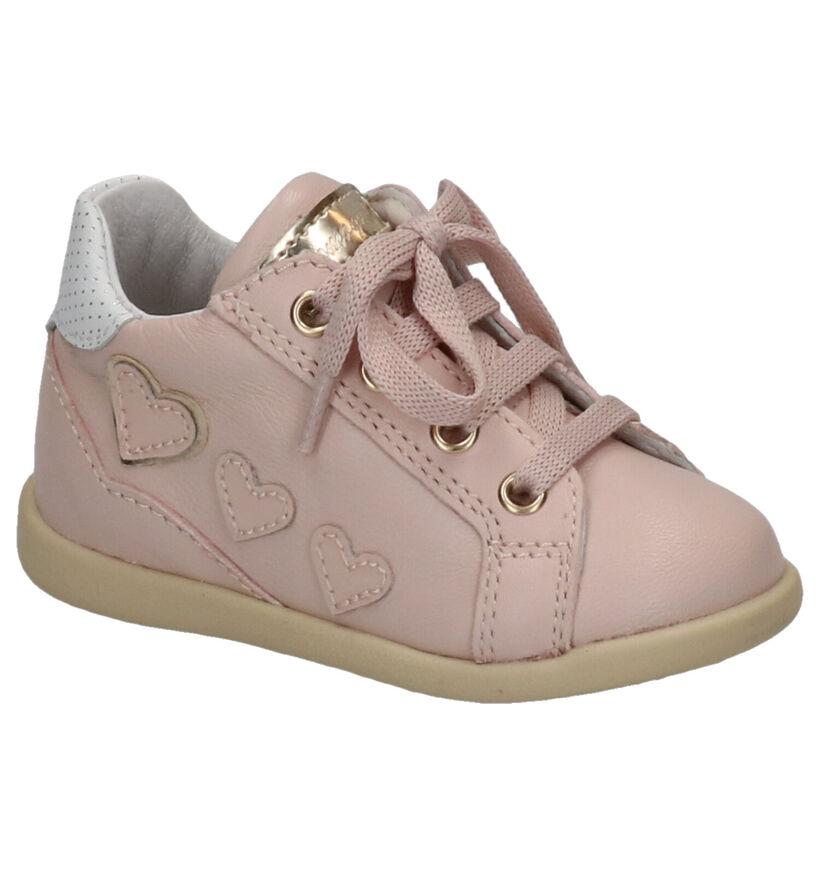 Romagnoli Chaussures pour bébé  en Rose en cuir (269560)