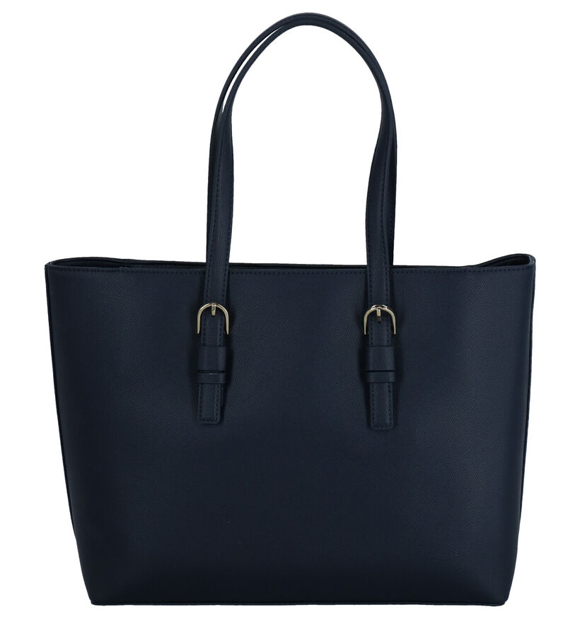 Tommy Hilfiger Classic Saffiano Sac Bandoulière en Bleu en simili cuir (264550)