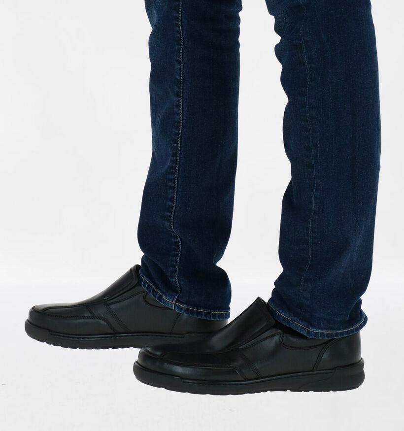 Ara Moritz Chaussures slip on en Noir en cuir (282685)