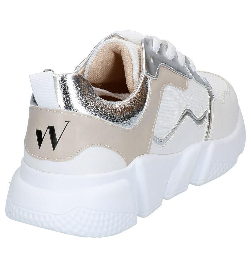 Vanessa Wu Baskets basses en Blanc en simili cuir (277329)