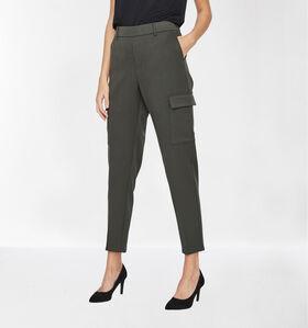Vero Moda Maya 30 inch Pantalon en Vert kaki (284039)
