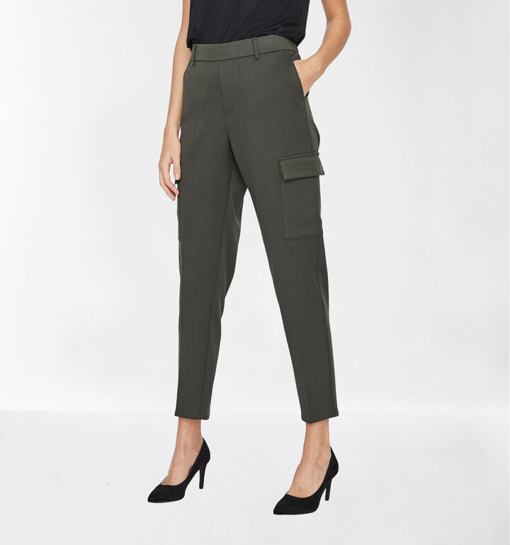 Vero Moda Maya 30 inch Pantalon en Vert kaki