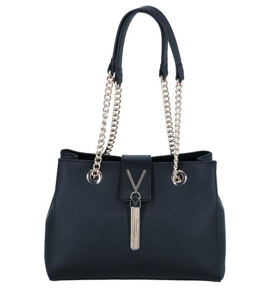 Valentino Handbags Divina Zwarte Schoudertas