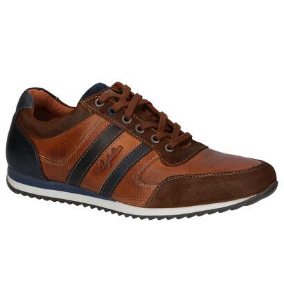 Australian Cornwall Chaussures à lacets en Cognac en cuir (256201)