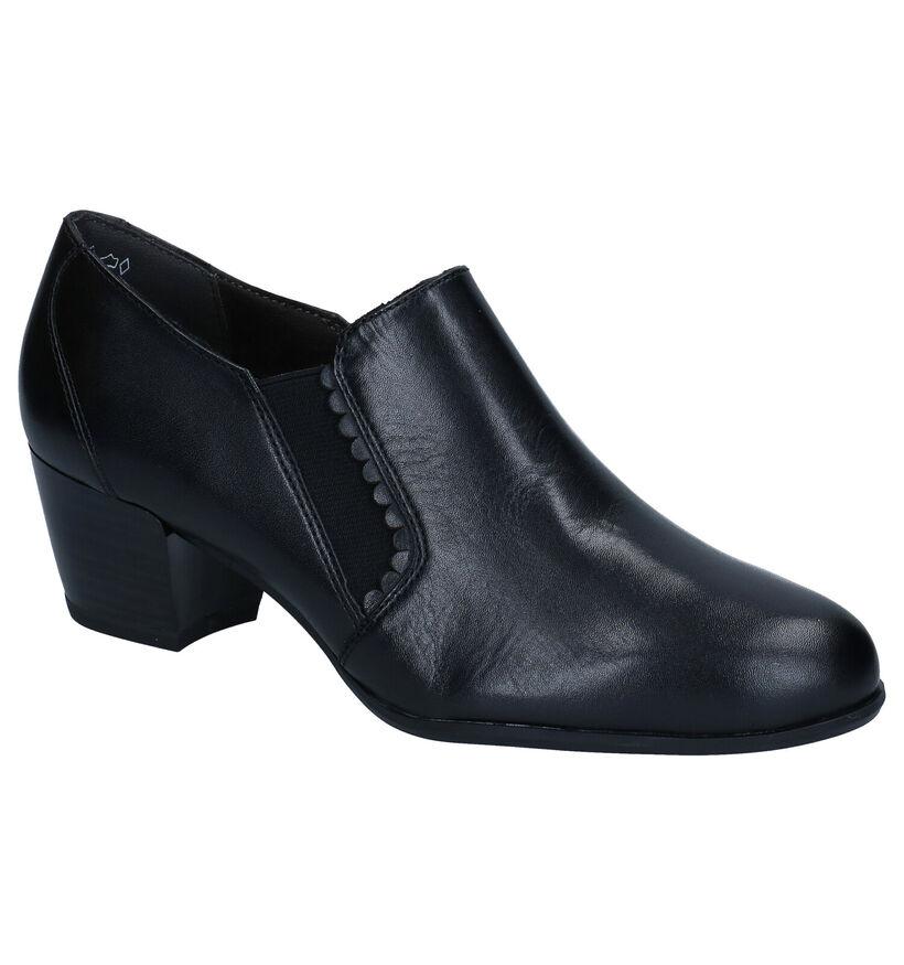 Tamaris ANTIshokk Escarpins en Noir en cuir (280778)