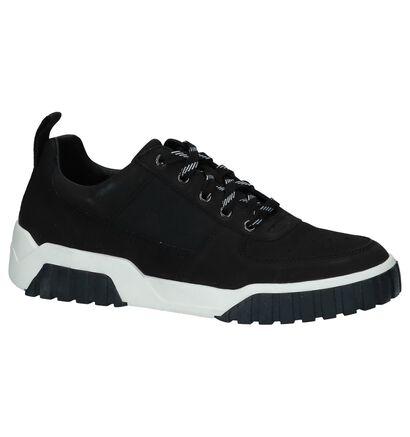 Zwarte Lage Sneakers Diesel in leer (225655)