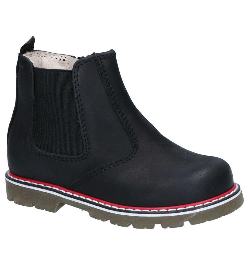 Bumba Blauwe Chelsea Boots in leer (261011)