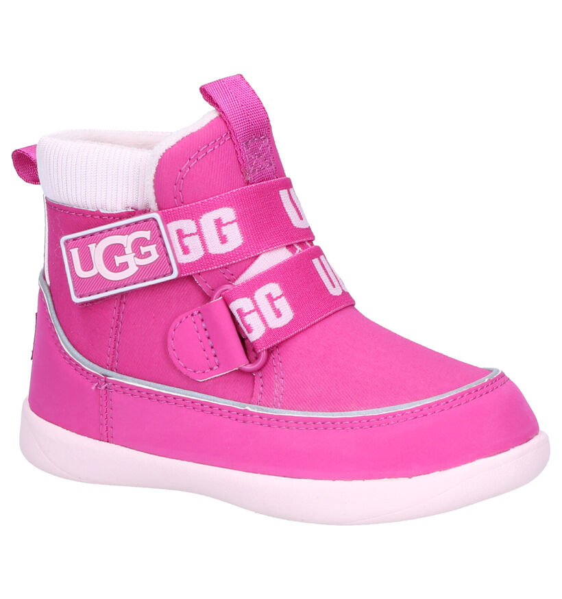 UGG Tabor Fuchsia Snowboots in stof (254123)