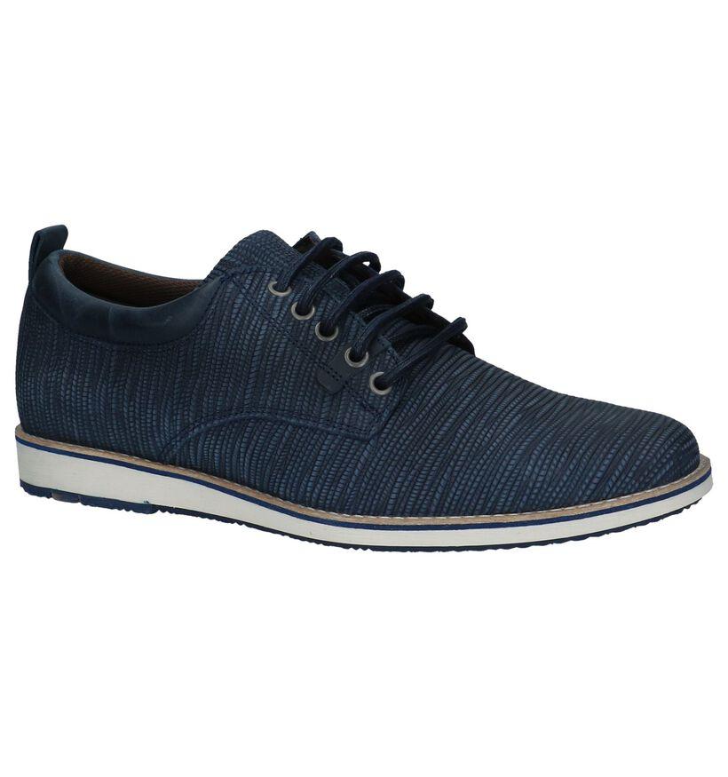 Bullboxer Chaussures habillées en Bleu foncé en nubuck (237604)