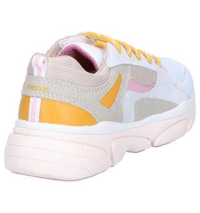 Geox Witte Sneakers in stof (265774)
