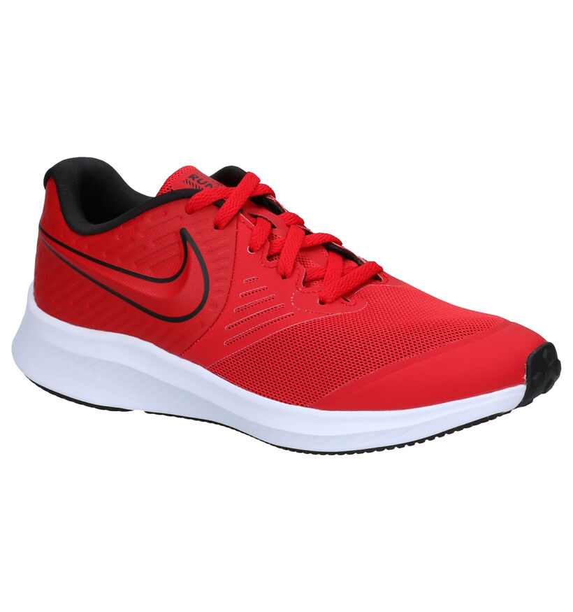 Nike Star Runner Baskets en Rouge en textile (284474)