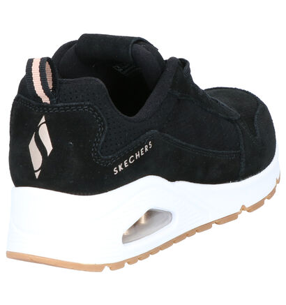 Skechers Zwarte Sneakers in stof (262829)
