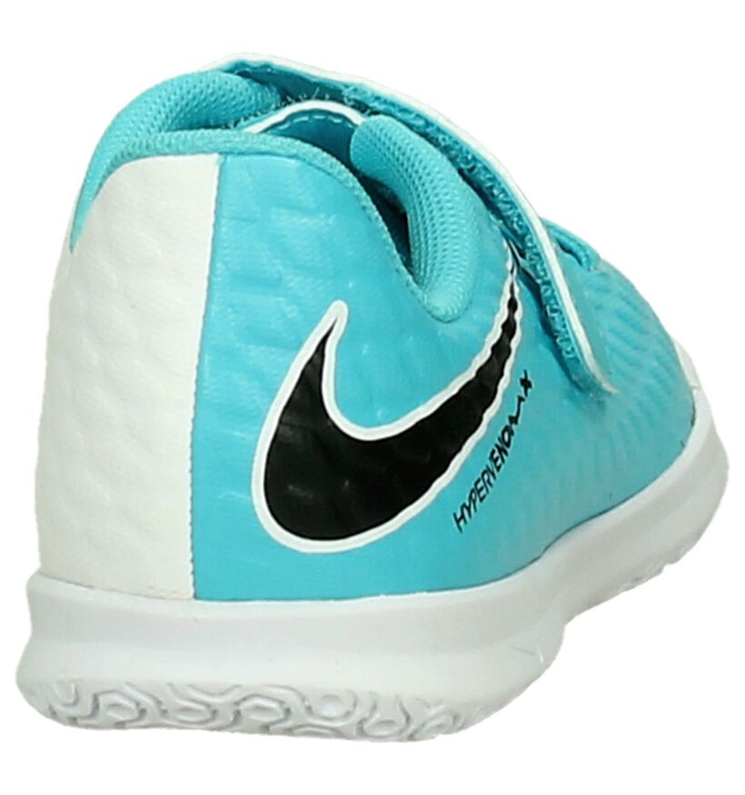 Nike Chaussures de foot en Bleu en simili cuir (198207)