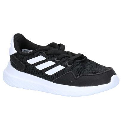 adidas Archivo Zwarte Sneakers in stof (252525)