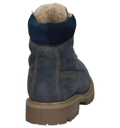 Dazzle Chaussures hautes en Bleu foncé en nubuck (223856)