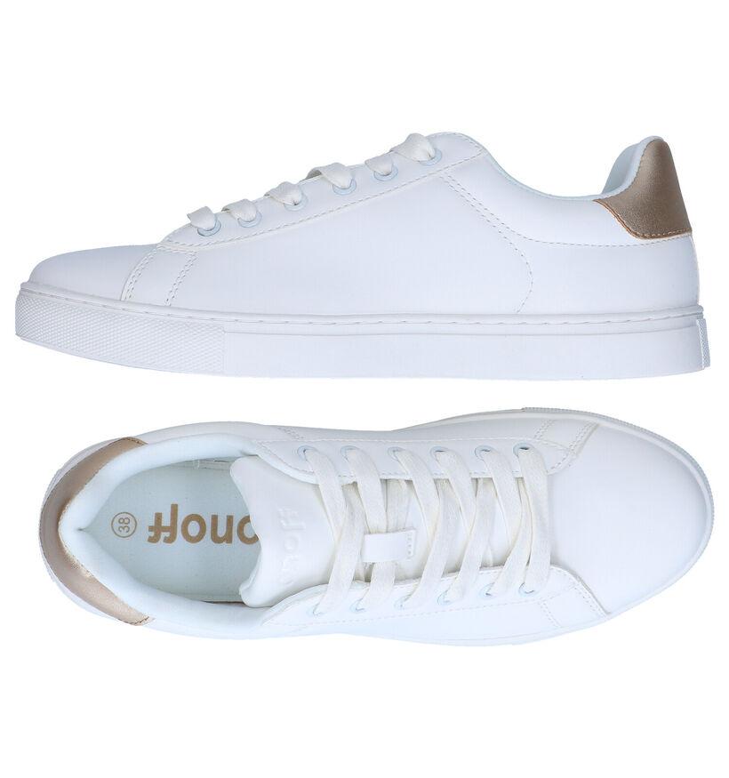 ONOFF Chaussures à lacets en Blanc en simili cuir (291442)